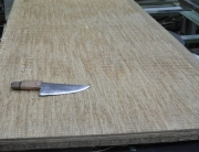 Knife-on-tatami